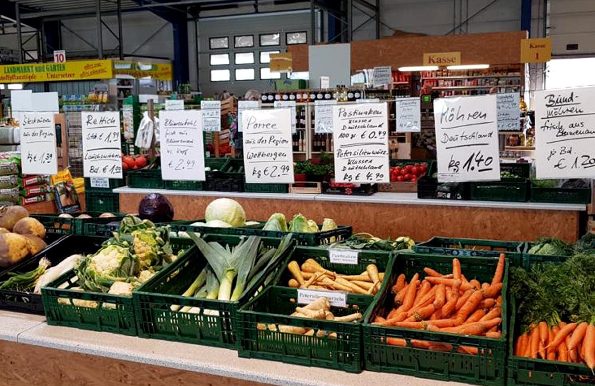 Gemüse & Südfrüchte